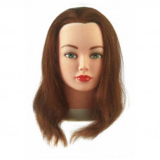 Голова-манекен Cathy шатен 15-40 см без штатива