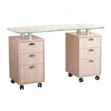 Маникюрный стол 218 стекло