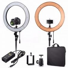 Кольцевая лампа для визажиста
